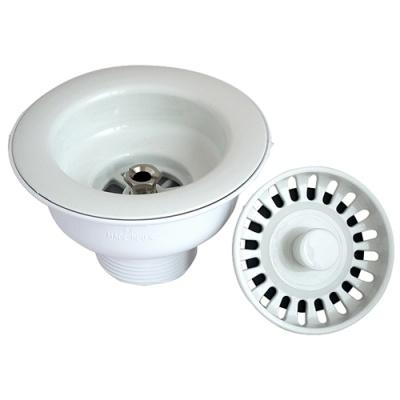 Mcalpine Basket Strainer Waste White Notjusttaps Co Uk